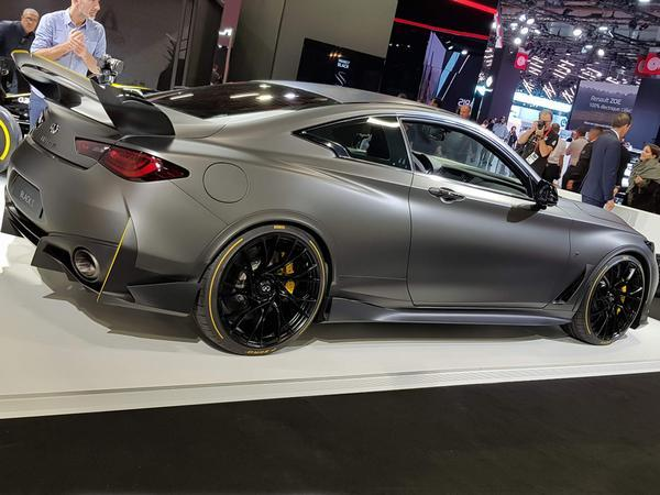 Infiniti Describes The Result As A Unique And Exciting Electrified Performance Hybrid Prototype
