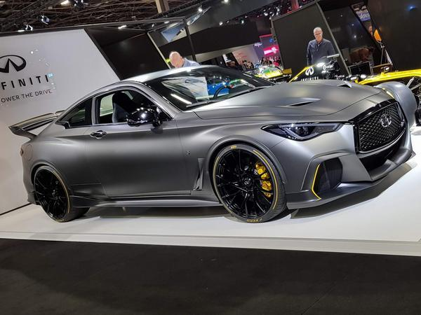 Nope Your Eyes Do No Deceive You This Is The Infiniti Project Black S As Seen At Geneva In 2017 Now Its At Paris 2018 Looking Remarkably Similar