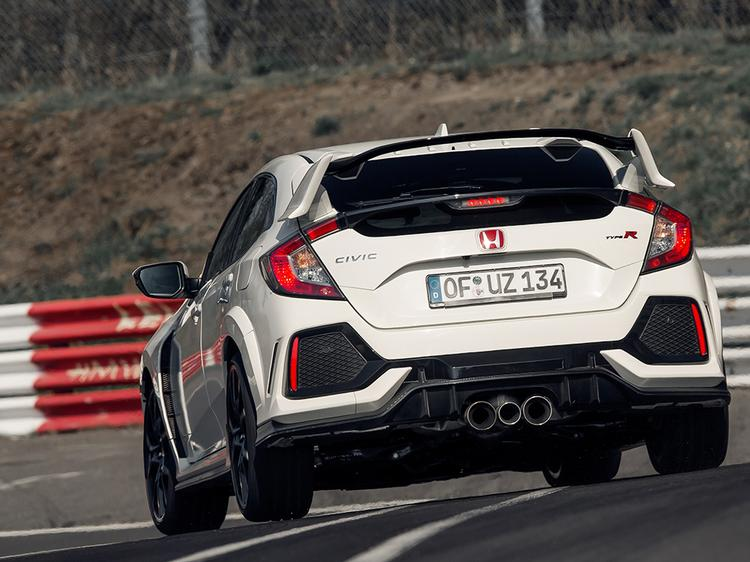 honda claims new civic type r nurburgring record pistonheads. Black Bedroom Furniture Sets. Home Design Ideas