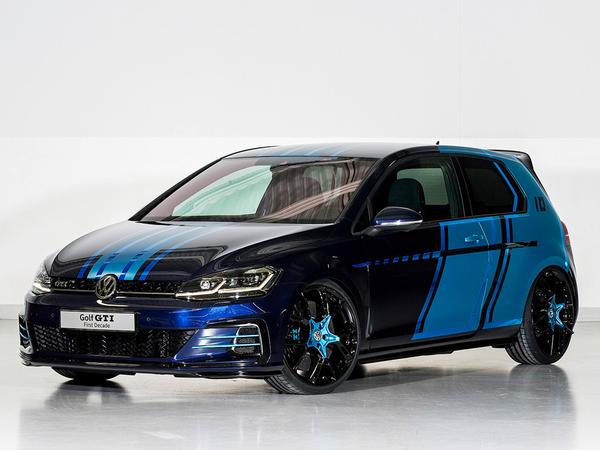 VW brings spectacular hybrid Golf GTI concept to Worthersee