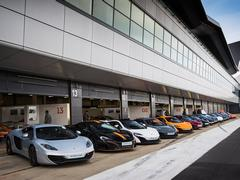 All McLarens more than welcome here!