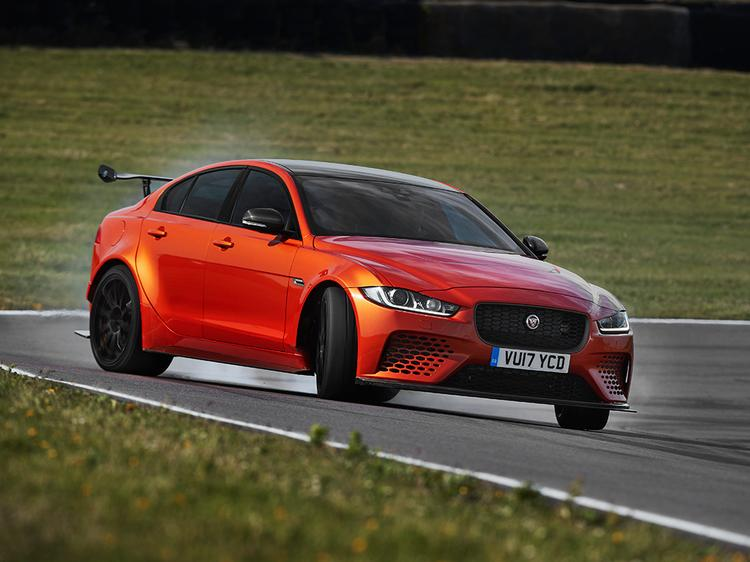 Jaguar XE SV Project 8 is a 592-horsepower super-sedan