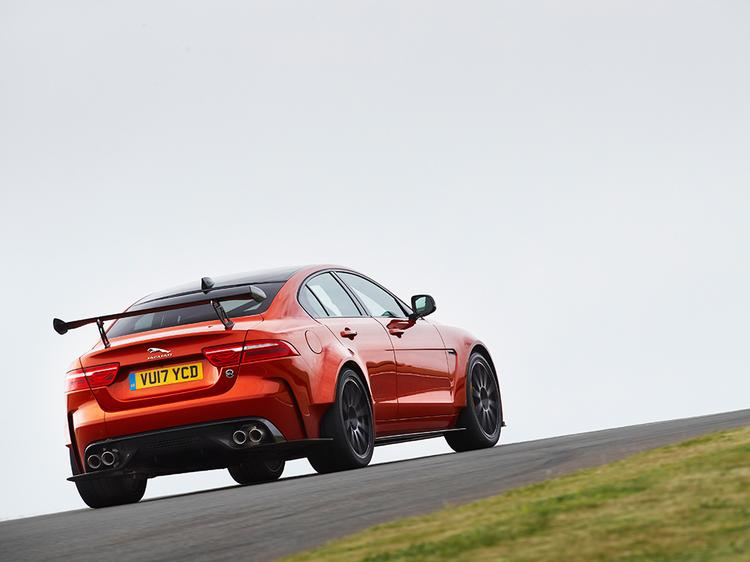 The Jaguar XE SV Project 8 has arrived, complete with 592 ponies