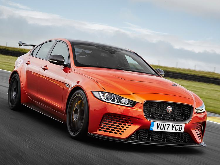 Jaguar XE SV Project 8 Packs a almost 600-HP Punch