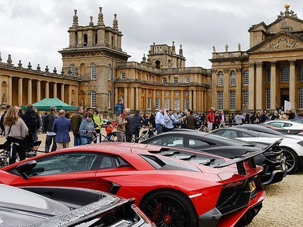Blenheim Palace Clic and Supercar competition | PistonHeads on