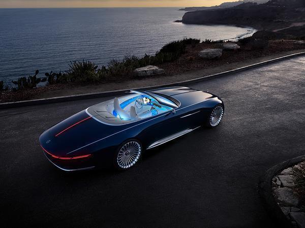Mercedes wows with the Vision Mercedes-Maybach 6 Cabriolet