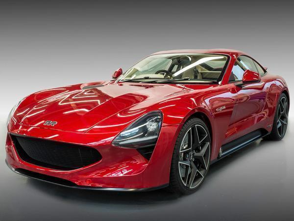 The wait is over ― Meet the all-new TVR Griffith