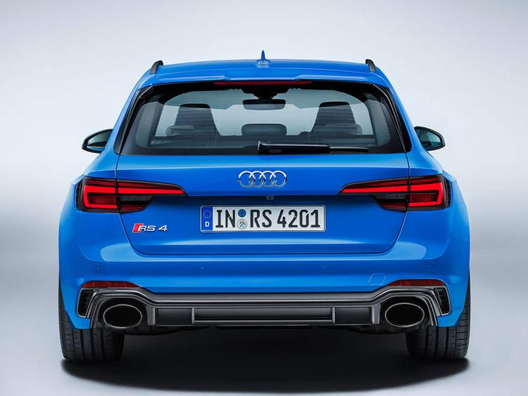 New Audi RS 4 Avant to cost from £61625