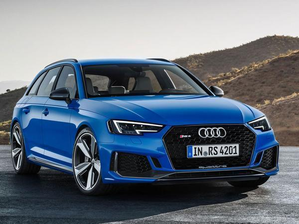 Audi reveals 174mph RS4 Avant at Frankfurt