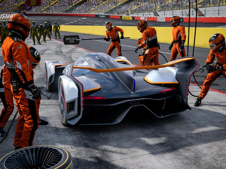 McLaren Ultimate Vision designed for Gran Turismo game