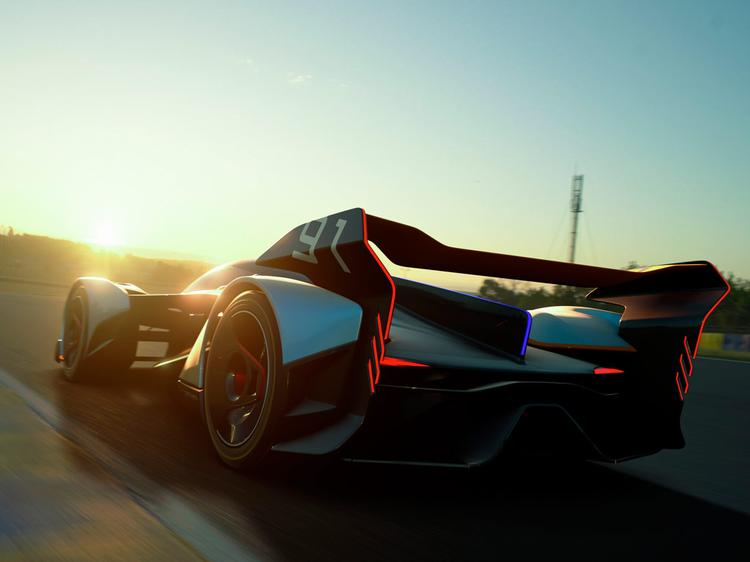 Check out McLaren's future racer for PS4 game!