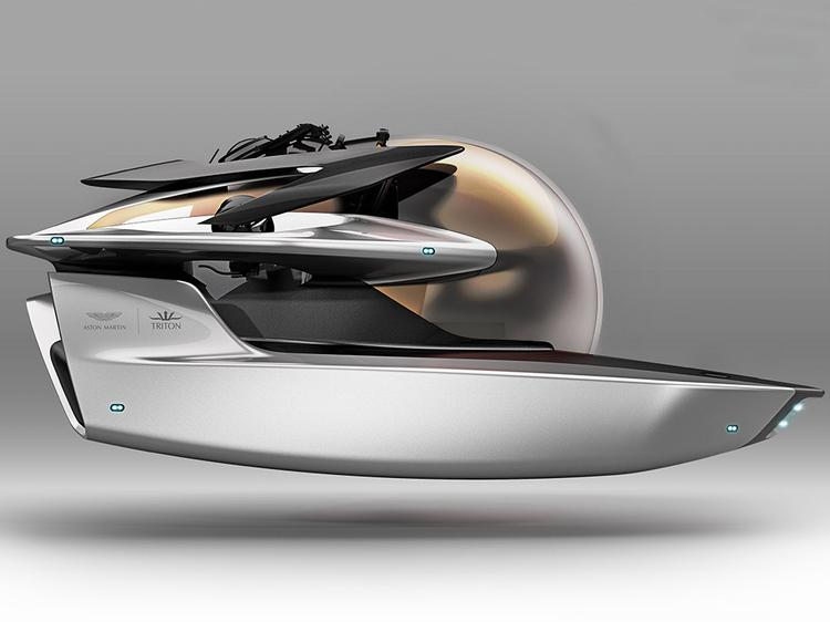 Aston Martin launches Project Neptune submarine