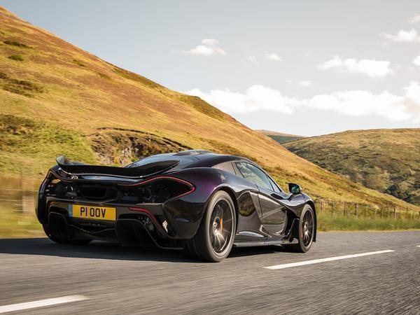 driving a mclaren p1 on the road | pistonheads