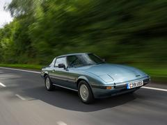 Early RX-7 has less than 300 miles on it!