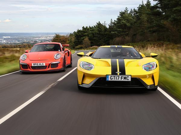 You Tend To Hear The New Ford Gt Long Before You See It The Car Generates A Steady Hum That Has Nothing To Do With Its Motley Race Pumped V