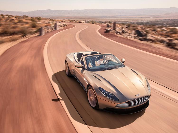 Aston Martin DB11 Volante 2018 - Sleek new Convertible sports GT REVEALED