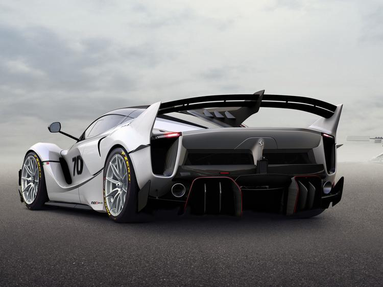 Ferrari's track only FXX-K features tweaked aero and less weight