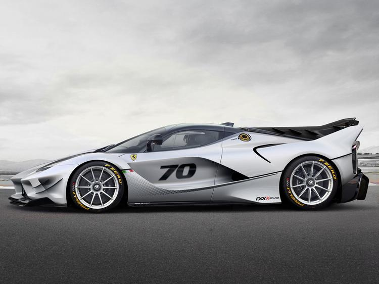The Ferrari FXX-K Evoluzione is real
