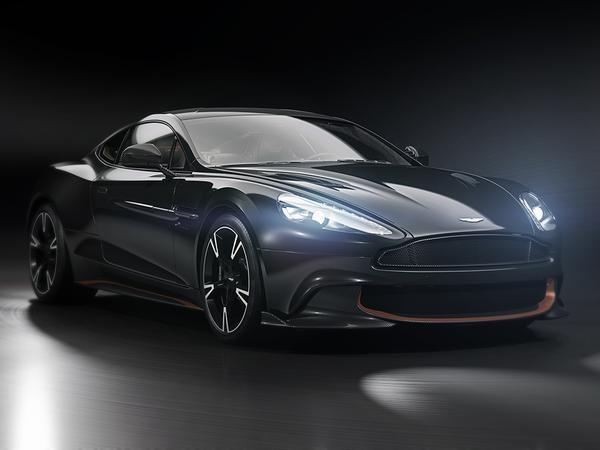 Aston Martin is Sending the Vanquish S with a Special Edition