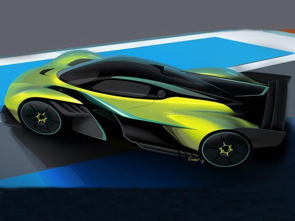 Aston Martin reveals track version of Newey's hypercar