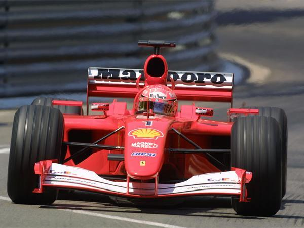 Schumacher F2001 sets new record