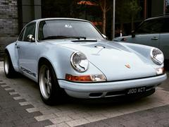 Oh yes, and the Porsche 911 in question