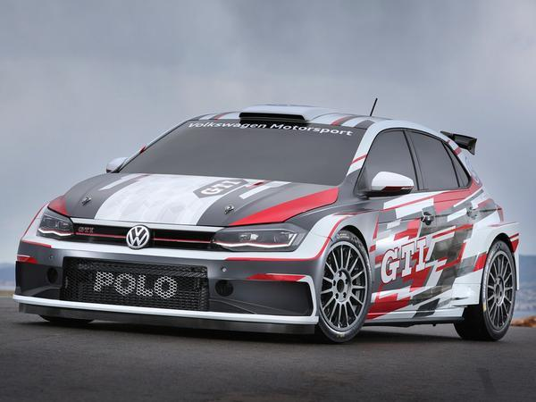 New Polo GTI R5 rally vehicle unveiled