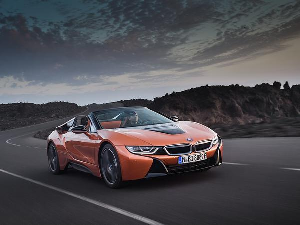 BMW i8 Roadster is officially unveiled alongside updated coupe