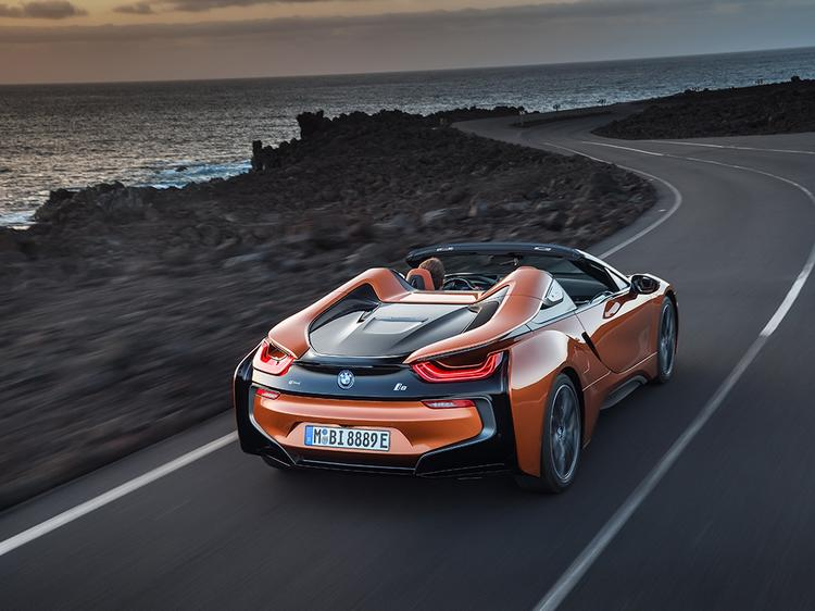BMW i8 Roadster Drops in LA