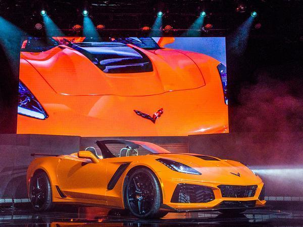Corvette ZR1 convertible surprise reveal - will cost £92k in US