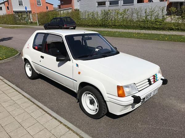 peugeot 205 rallye reader 39 s car of the week pistonheads. Black Bedroom Furniture Sets. Home Design Ideas