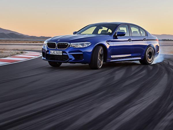 New BMW M5 Slides Into Guinness World Records With Longest Vehicle Drift