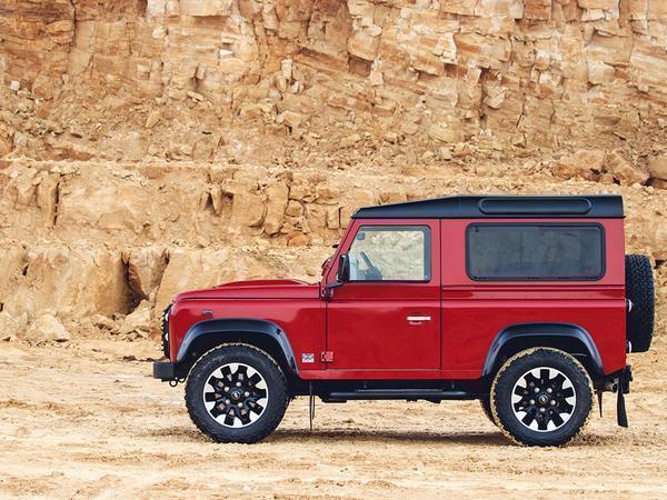 Land Rover presents the V8 Edition Defender