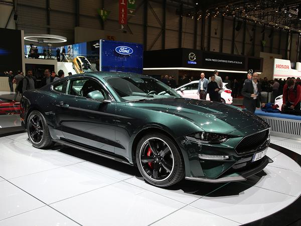 The Mcqueen Inspired Mustang Is Coming To Geneva Even Better Its Coming To The Uk Afterwards