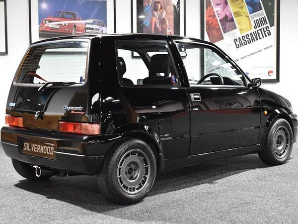 fiat cinquecento sporting turbo spotted car news. Black Bedroom Furniture Sets. Home Design Ideas
