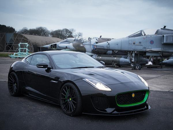 The Lister Thunder Is a 666-HP, 208-MPH Jaguar F-Type