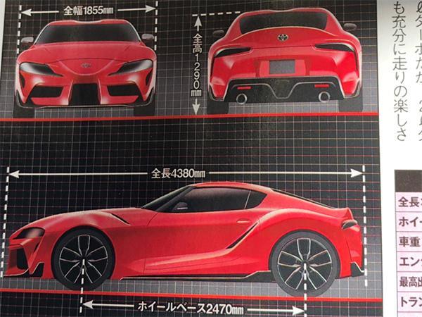 2019 Toyota Supra details leaked   PistonHeads