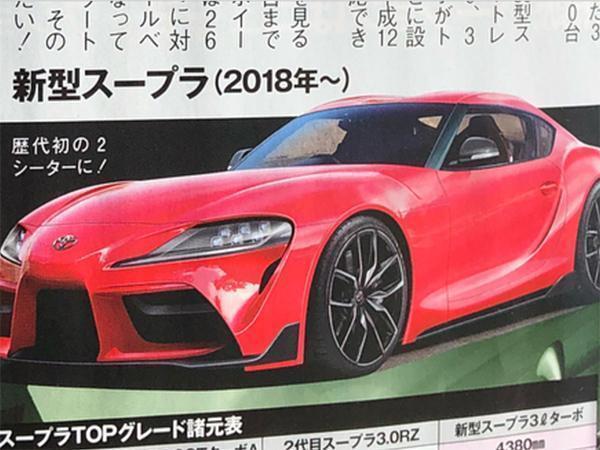 414091e97b2 2019 Toyota Supra details leaked   PistonHeads