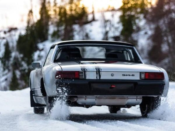 porsche 914 6 rally car on ice time for tea pistonheads. Black Bedroom Furniture Sets. Home Design Ideas