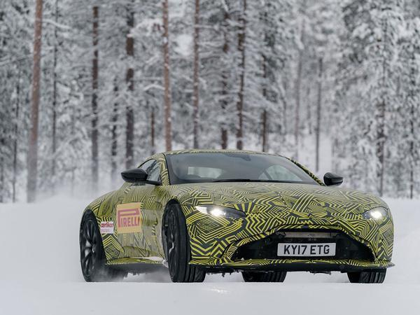 re: aston martin vantage prototype drive - page 1 - general gassing