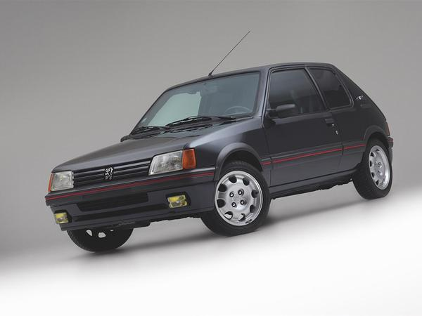 armoured peugeot 205 gti spotted vehicle traveller. Black Bedroom Furniture Sets. Home Design Ideas
