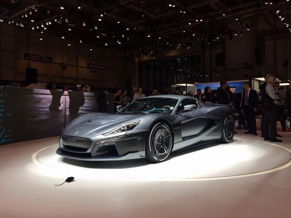 Croatian Supercar 'Rimac Concept Two' Revealed at Geneva International Motor Show