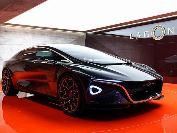 Lavish Lagonda Vision Concept kick-starts all-electric luxury brand from Aston Martin