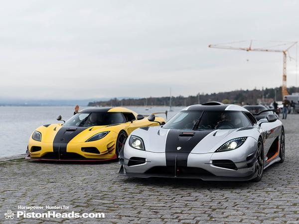 Koenigsegg One:1 and Agera ML