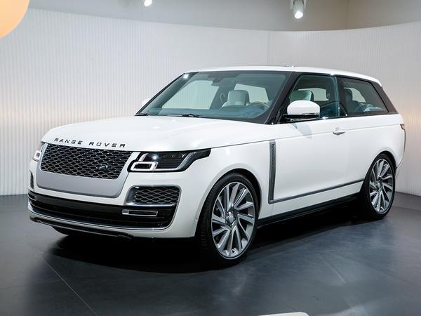 Geneva 2018: Range Rover SV Coupe Revealed