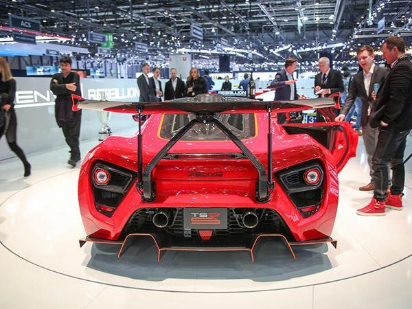 Undeterred, The Team Is Back At Geneva With Latest Evolution Of Its  Twin-supercharged (hence TS) Hypercar: TSR-S.