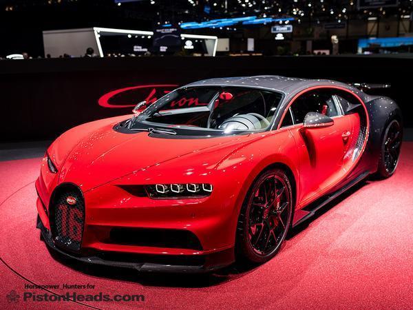 Faster Bugatti Chiron Sport unveiled at Geneva