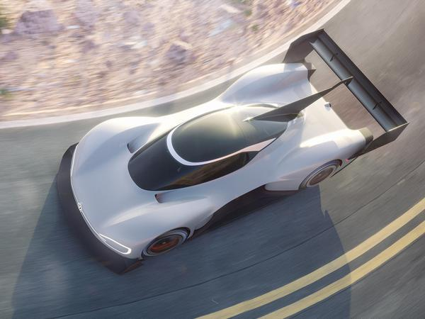 Volkswagen introduces its all-electric prototype racing vehicle