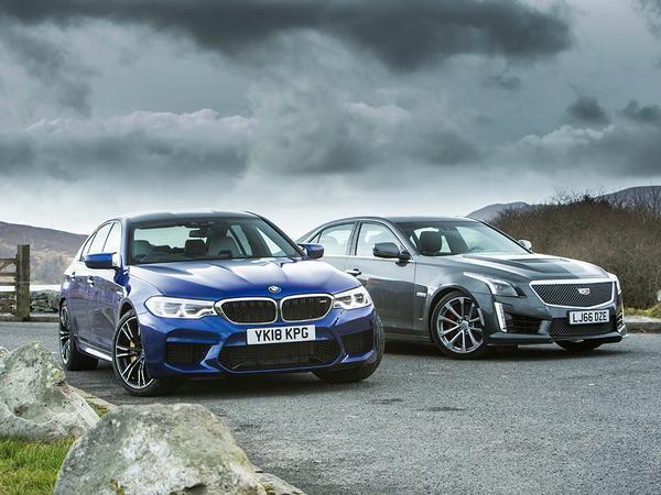 BMW M5 vs  Cadillac CTS-V | PistonHeads