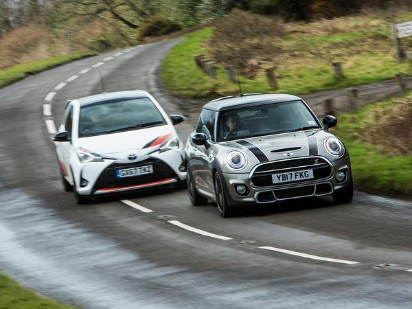 Toyota Yaris Grmn Vs Mini Cooper S Works 210 Pistonheads